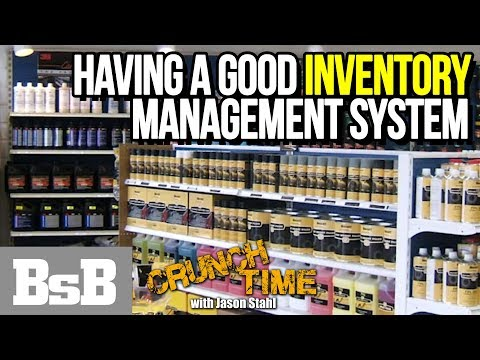 Having a good inventory management system   Crunch Time