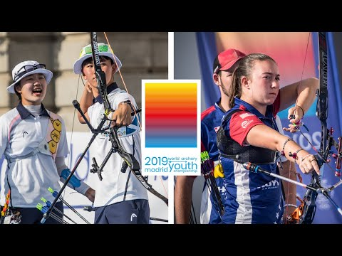 Korea v USA  recurve cadet mixed team gold | World Archery Youth Championships 2019