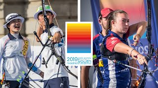 Korea v USA – recurve cadet mixed team gold | World Archery Youth Championships 2019