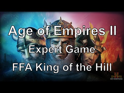 Aoe2: Experts - FFA King of the Hill Tournament