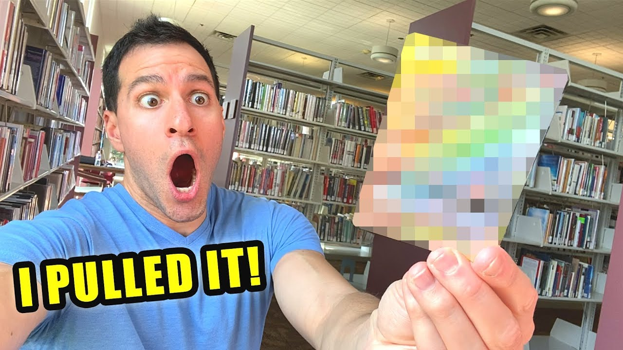 Download *I FINALLY PULLED IT IN THE LIBRARY!* Best Pokemon Cards Opening!