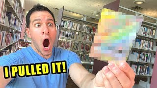 *I FINALLY PULLED IT IN THE LIBRARY!* Best Pokemon Cards Opening!