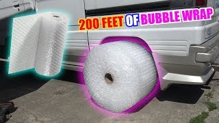 We Tried BUBBLE WRAP Tires