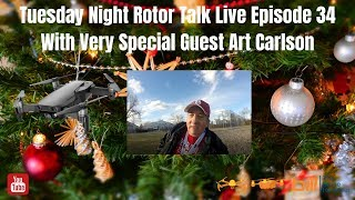 Tuesday Night Rotor Talk Live Episode 34 Very Special Guest Art Carlson thumbnail