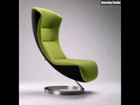 Coole Designer Mobel Gruner Sessel Youtube