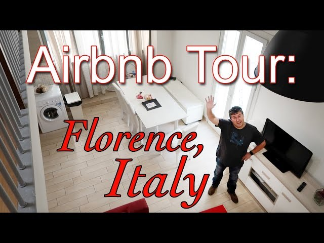 Apartment Tour | Florence, Italy Airbnb