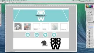 Professional Website GFX (Speed Art) Thumbnail