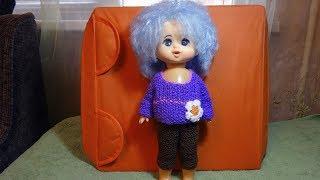 Как связать брючки (штанишки) для куклы (Вязание спицами)