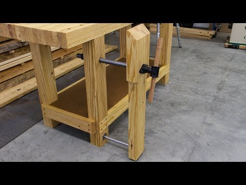 Build a Workbench Leg Vise