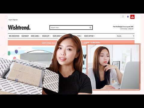 WISHTREND | Unboxing & K-Beauty Website Review