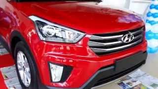 Hyundai Creta ix25 Exterior and Interior Launch day HD