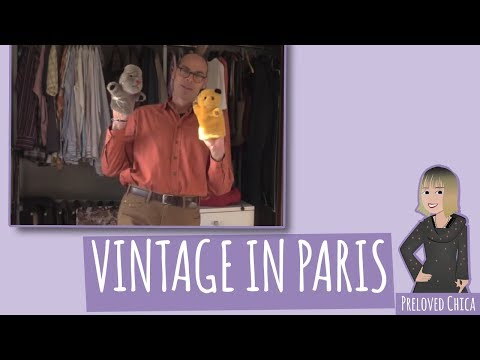 Where to Buy Gentleman's Vintage Clothes in Paris