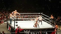 "Tim Wiese WWE Debüt München 3.11.2016 ""The Machine"" full match Sheamus Cesaro Tag Team match"