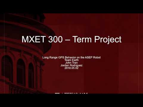 MXET 300 - Earth Final Project