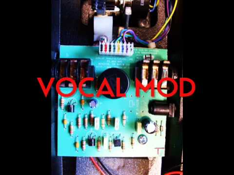 Vox Dunlop Crybaby Wah Stock Vs Vocal Mod Youtube