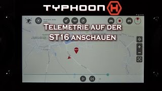 Yuneec's Typhoon H - Telemetrie auf der ST16 anschauen/watch telemetry on the ST16 (german/deutsch)