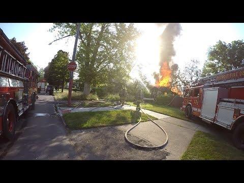 Box alarm Squad 4 Detroit Fire Department