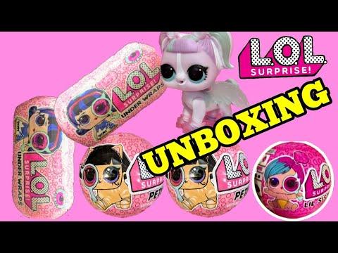 lol surprise series 4 under wraps  lil sisters  pets - youtube