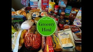 August Winco Grocery Haul & Meal Plan