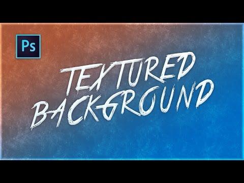 Photoshop - Textured Background Tutorial