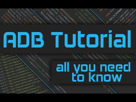 ADB Tutorial: How to use ADB