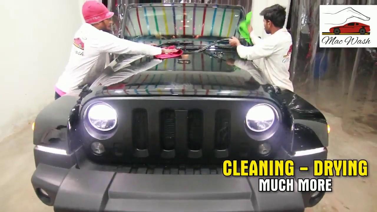 Automatic Car wash & Detailing Center in Faisalabad Pakistan