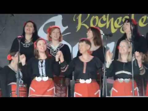 The London Bulgarian Choir at Rochester Sweeps