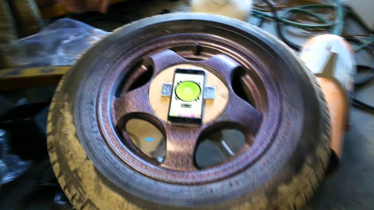 DIY Wheel Balance | Make Your Own