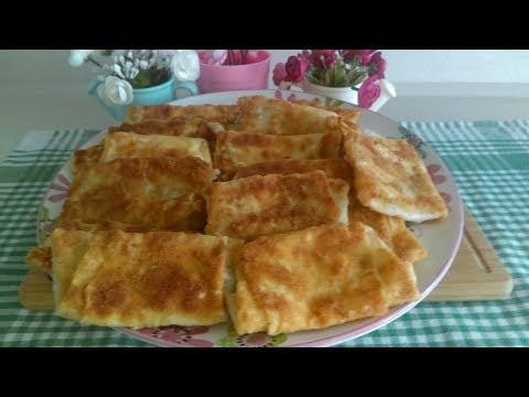 5 Dakikada Pratik Kahvaltı Böreği ( muhteşem lezzetli çıtır çıtır )