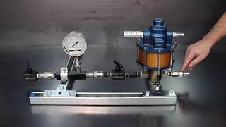 Simple High Pressure Hydrotest Setup