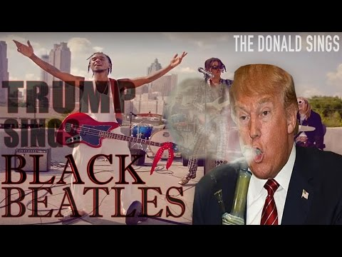 DONALD TRUMP SINGING 'BLACK BEATLES' BY RAE SREMMURD & GUCCI MANE