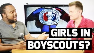 Eagle Scouts react to decision to let girls into BSA