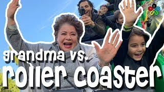 GRANDMA'S FIRST ROLLER COASTER!! *LEGOLAND CALIFORNIA*