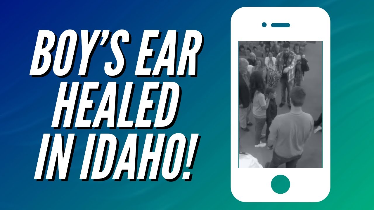 BOY'S EAR HEALED IN IDAHO!