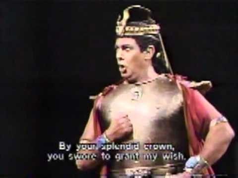 Verdi: Aida with Freni, Domingo, Wixell. Houston 1987