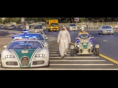 يوم لاينسى مع أسطول سيارات شرطة دبي الخارقة Full Day with Dubai Police Super Cars