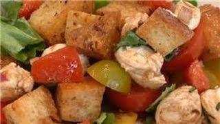 From Garden To Table : Italian Bread & Tomato Salad
