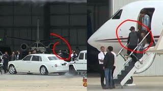 Salman khan VIP Entry IN Privet Jet