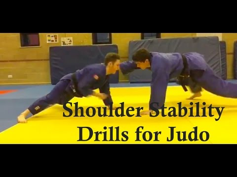 Shoulder Stability Drills for Judo & BJJ