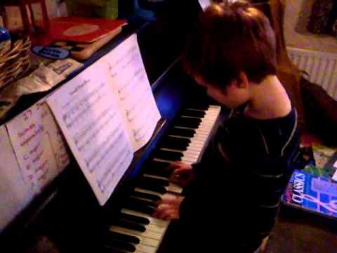 Claus, autistic savant, at the piano