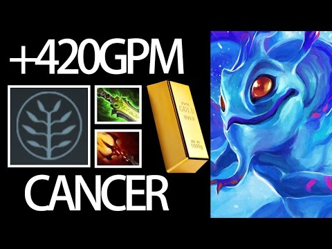 Cancer Talent Puck +420 GPM Millionaire Hero Gameplay by Forev