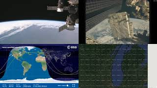 North American Coastlines - NASA/ESA ISS LIVE Space Station With Map - 214 - 2018-10-17
