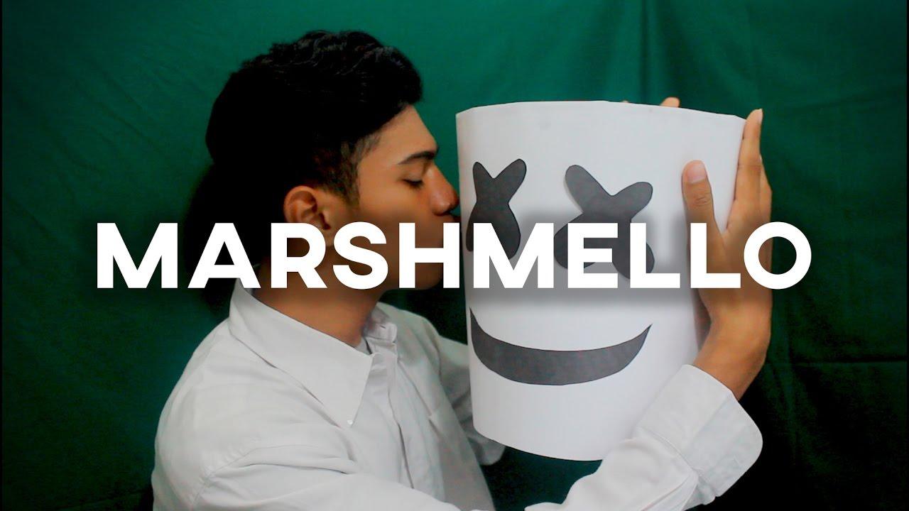 Marshmello Helmet Tutorial Low Budget Youtube