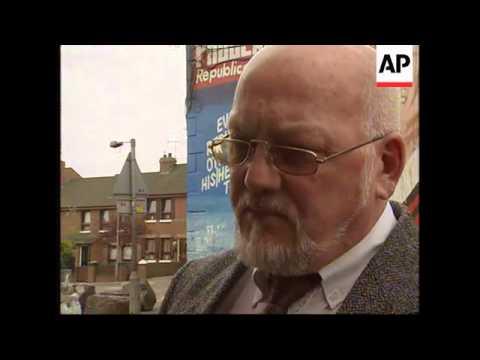 N. IRELAND: FORMER UDA MEMBER BILLY MCQUISTON INTERVIEW