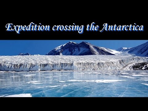 Expedition crossing the Antarctica, prove the Globe! ▶️️
