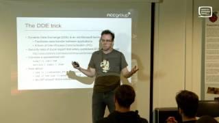 CamSec - Tricks to Improve Web App Excel Export Attacks - Jerome Smith