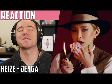 Heize(헤이즈) - Jenga(젠가) MV Reaction