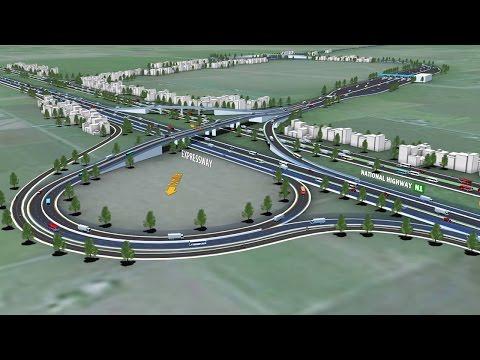 Dhaka Chittagong Expressway 3D