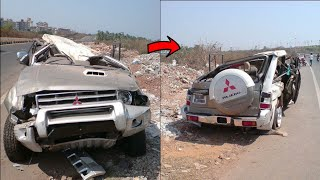 Top 10 : Mitsubishi  PAJERO Crashes In INDIA ! ! ! #SuperSonic