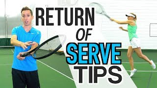 3 TENNIS TIPS TO TRANSFORM YOUR RETURN OF SERVE